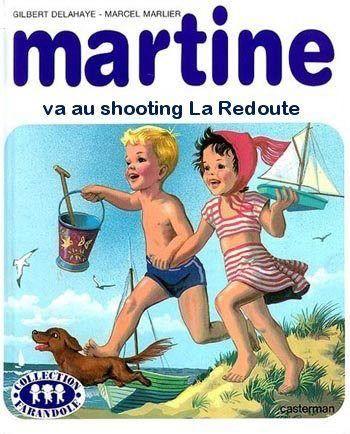 Martine va au shooting de la redoute