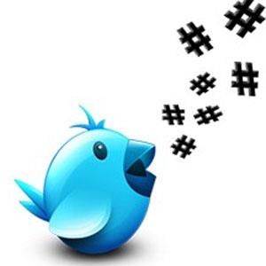 hashtag # twitter
