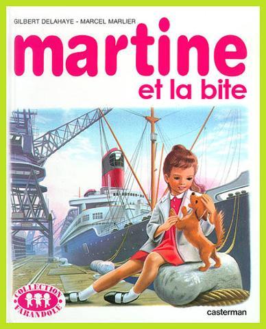 Martine albums detournement